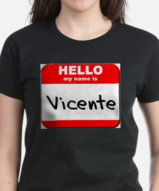 Hello my name is Vicente Tee