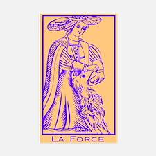 La Force, Tarot Rectangle Decal