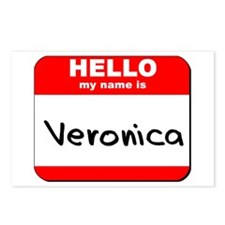Hello my name is Veronica Postcards (Package of 8)