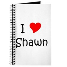 Cute I love shawn Journal