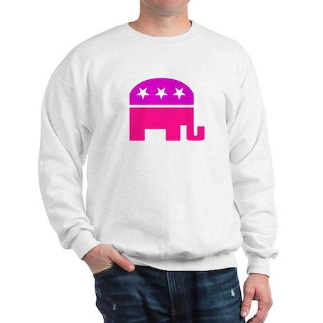 GOP Pink Elephant Sweatshirt