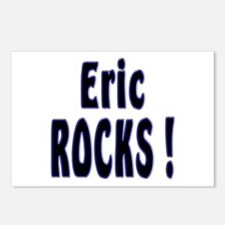 Eric Rocks ! Postcards (Package of 8)
