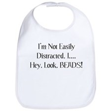 Distracted By Beads Bib