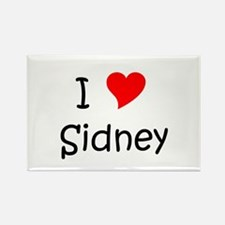 Cute Sidney Rectangle Magnet