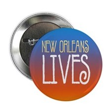 New Orleans Lives! Button