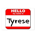 Hello my name is Tyrese Postcards (Package of 8)