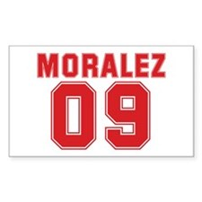 MORALEZ 09 Rectangle Sticker