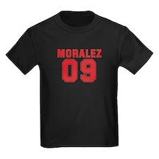 MORALEZ 09 Kids Dark T-Shirt