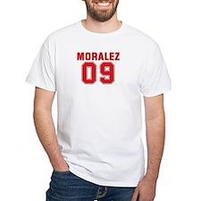MORALEZ 09 White T-Shirt