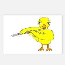 Flute Chick Postcards (Package of 8)