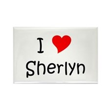 Cool Sherlyn Rectangle Magnet
