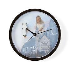 Angel #223 : winged horse : Wall Clock