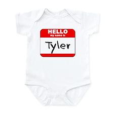 Hello my name is Tyler Infant Bodysuit