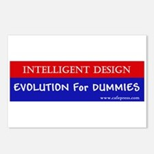 Evolution for Dummies Postcards (Package of 8)