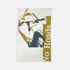 No Roads 1 Rectangle Magnet