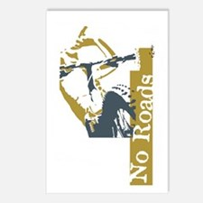 No Roads 1 Postcards (Package of 8)