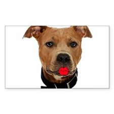 Palin Pit Bull Rectangle Decal