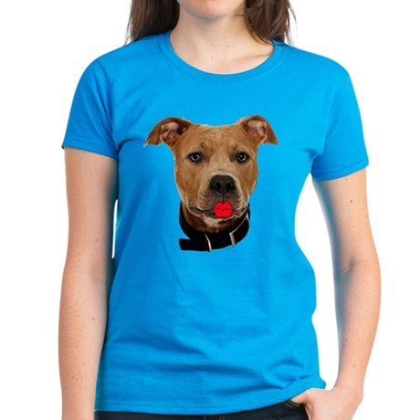 Palin Pit Bull Women's Dark T-Shirt