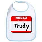 Hello my name is Trudy Bib