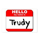Hello my name is Trudy Postcards (Package of 8)