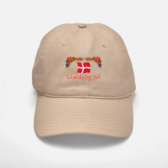 Danish Glaedelig Jul 2 Baseball Baseball Cap
