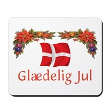 Danish Glaedelig Jul 2 Mousepad