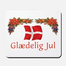Danish Glaedelig Jul 2 Mousepad