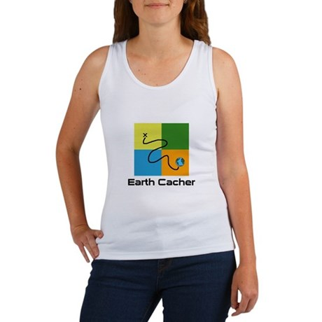 Earth Cacher Women's Tank Top