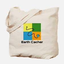 Earth Cacher Tote Bag
