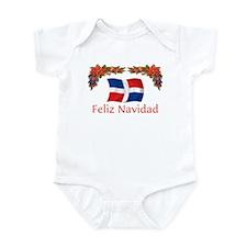 Dominican Feliz Navidad 2 Infant Bodysuit