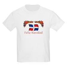 Dominican Feliz Navidad 2 T-Shirt