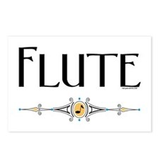 Flute Postcards (Package of 8)
