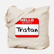 Hello my name is Tristan Tote Bag