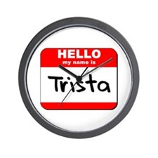 Hello my name is Trista Wall Clock