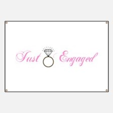 Just Engaged (Diamond Ring) Banner