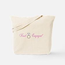Just Engaged (Diamond Ring) Tote Bag