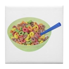 Some Fruity Cereal On Your Tile Coaster
