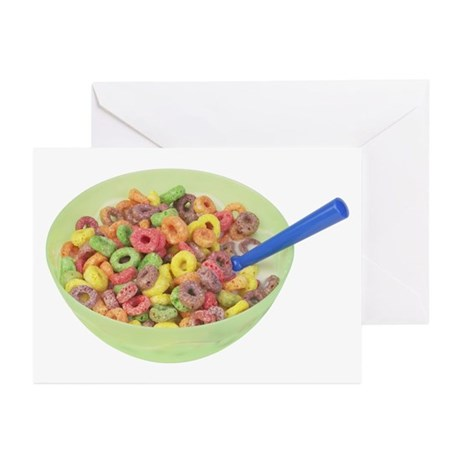 Some Fruity Cereal On Your Greeting Cards (Package