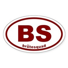 brutesquad BS Oval Sticker (50 pk)