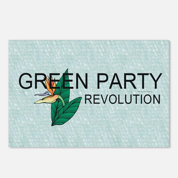 Green Party Postcards (Package of 8)