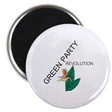 """Green Party 2.25"""" Magnet (10 pack)"""