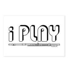 I Play Flute Postcards (Package of 8)