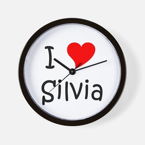 Cute Silvia Wall Clock