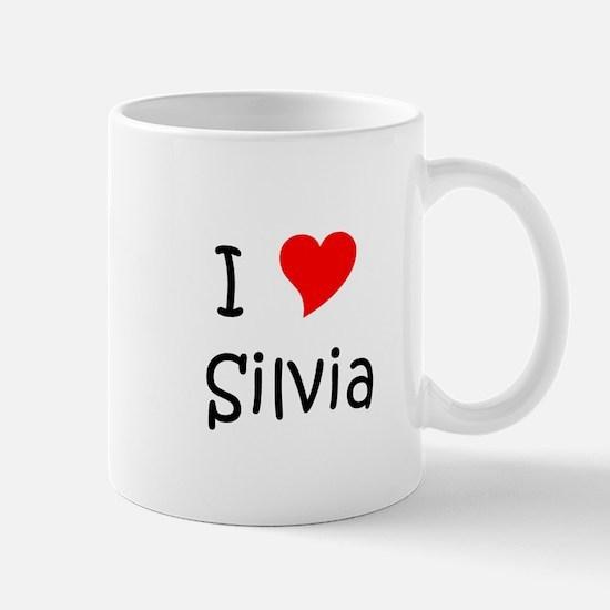 Cute Silvia Mug