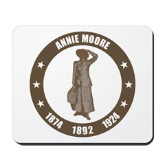 Annie Moore 4 Mousepad