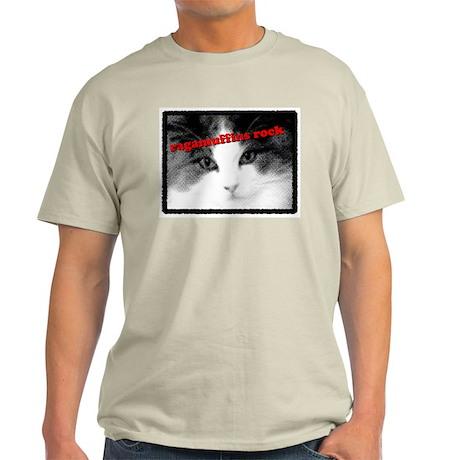 CAT - Ragamuffins Rock Ash Grey T-Shirt