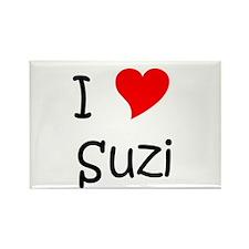 Funny Suzi Rectangle Magnet