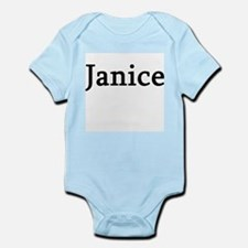 Janice - Personalized Infant Creeper