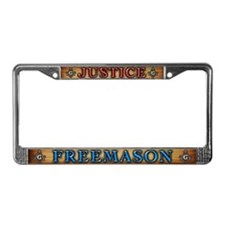 TRAVELING License Plate Frame