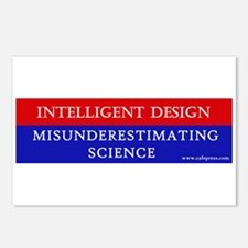 Misunderestimating Science Postcards (Package of 8